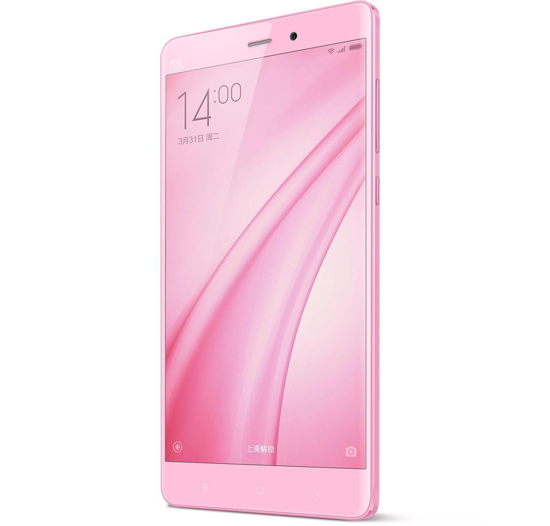 小米note 女神版 移动联通双4g手机(粉色)