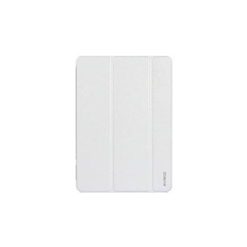 香港QH泉浩 苹果 iPad air / ipad 5 保护套 皮套 保护壳 进口优质皮料 高级PC衬底 超薄翻盖  带支架带休眠 iPad5保护套 苹果平板5皮套 白色-图片
