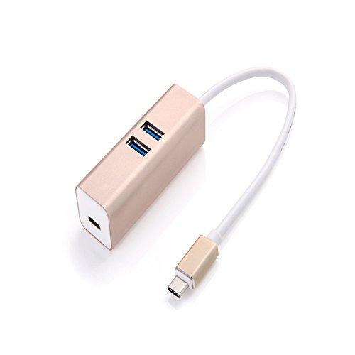 1转接头newmacbook可充电hub新macbook集线器usb分线