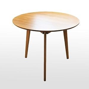 日式 小户型餐桌椅组合 北欧家具 宜家田园小餐桌 (原木色桌面)