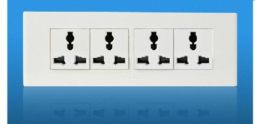 公牛墙壁插座面板118型