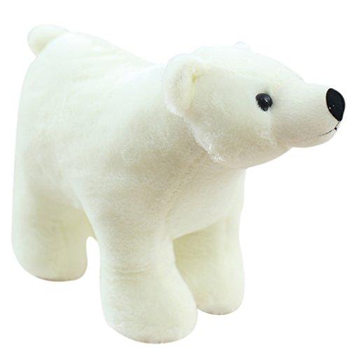 童趣 原创超萌可爱北极熊公仔 优质毛绒玩具 圣诞节元旦新年礼物 男