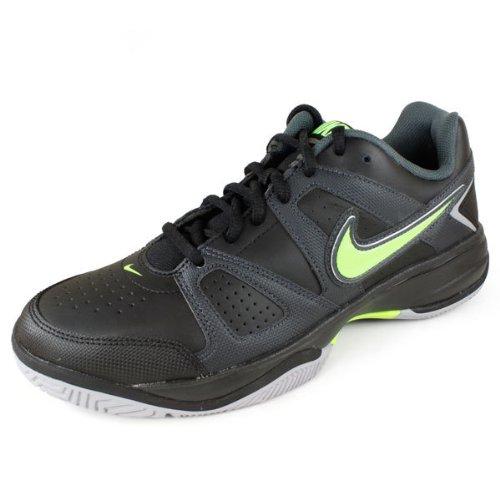 Nike 耐克 网球系列 CITY COURT VII 男 网球鞋 488141-004 黑/电子绿/煤黑 40 (US 7)