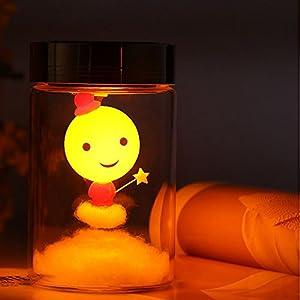 爱情魔法师 笑脸娃娃阳光罐 太阳能阳光罐 送女友闺蜜