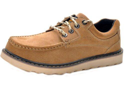 Unbeaten 英伦超酷 工装鞋 全牛皮手工缝制 休闲鞋 板鞋 低帮鞋 牛仔鞋 流行 男鞋