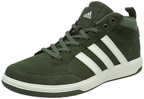 adidas 阿迪达斯 TENNIS CULTURE 男 网球鞋oracle VI STR mid Suede  S41876 夜空货物绿 F15/粉白/基础绿 S15 43 (UK 9)