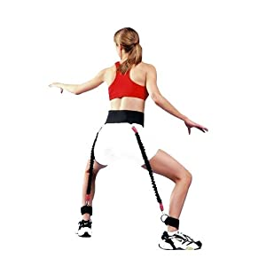 两副拉力绳锻炼方法图解