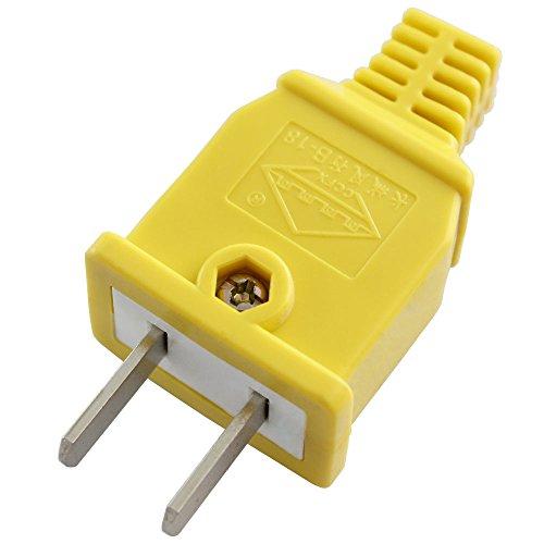 b-18黄色摔不烂可拆卸式两脚插头 工程工地专用可接线式两相插头 抗压