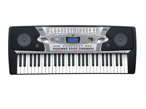 54个键盘的电子琴,键盘怎么认识啊