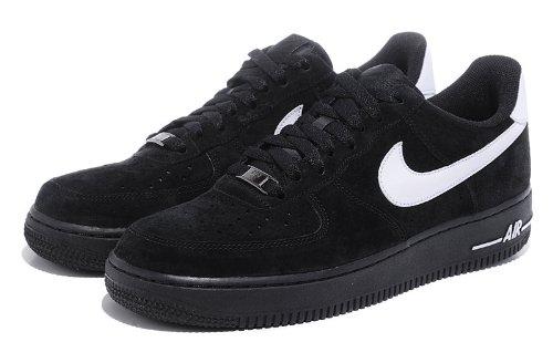 NIKE 耐克 男士休闲运动鞋 户外鞋 反毛皮 黑白色