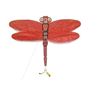 腾飞丝绢手绘红蜻蜓手工风筝(套装)-运动户外休闲