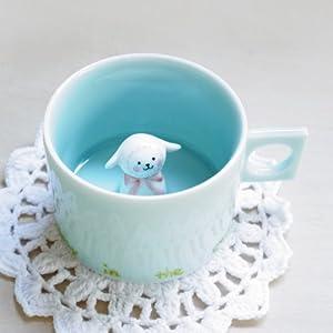 三浅陶瓷 原创设计 萌货 小绵羊杯子 创意陶瓷咖啡杯图片