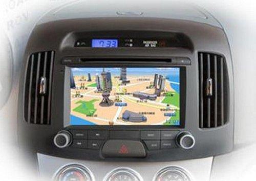现代悦动车载dvd汽车导航仪