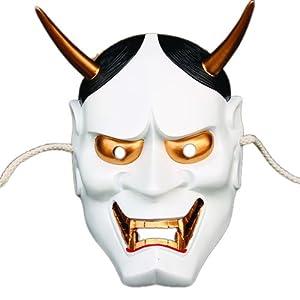 快乐派对 电影主题 高档树脂面具 日本鬼首般若面具 珍藏版般若主题面