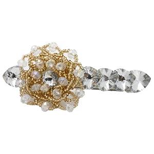 gust格时特发夹纯手工镶嵌心形水晶串珠时尚发夹发饰