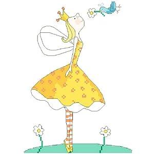 万众家园 十字绣 客厅卧室人物画 可爱卡通 小公主之和平 14ct 朵拉线