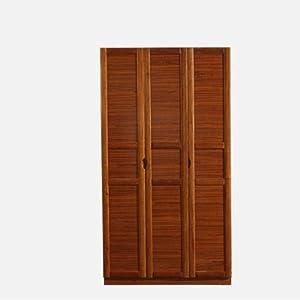 巢木良品 胡桃木衣柜 现代中式卧室配套实木五门衣柜组合yo-a315 2门