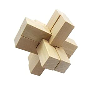 鲁班锁解锁玩具 六根孔明锁