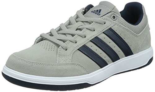 adidas 阿迪达斯 TENNIS CULTURE 男 网球鞋oracle VI STR Suede  S41869 纯质灰/学院藏青蓝/白 42 (UK 8)
