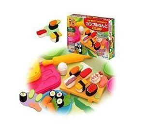 皇室 儿童益智玩具 彩泥 创意手工黏土 小厨师 日式寿司 tr755