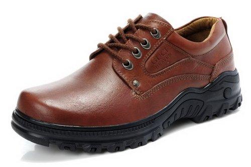 GUCIHEAVEN  古奇天伦 51201男士低帮休闲鞋大头厚底增高真皮日常商务皮鞋