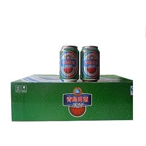 青岛啤酒冰醇听装330ml*24-食品-亚马逊中国