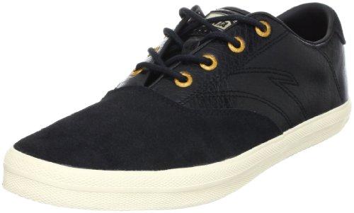 ANTA 安踏 滑板 男 帆布鞋/硫化鞋 黑色/浅米白 41 61243901-3