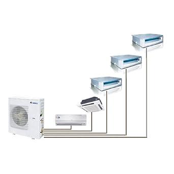 先锋牌水空调结构图