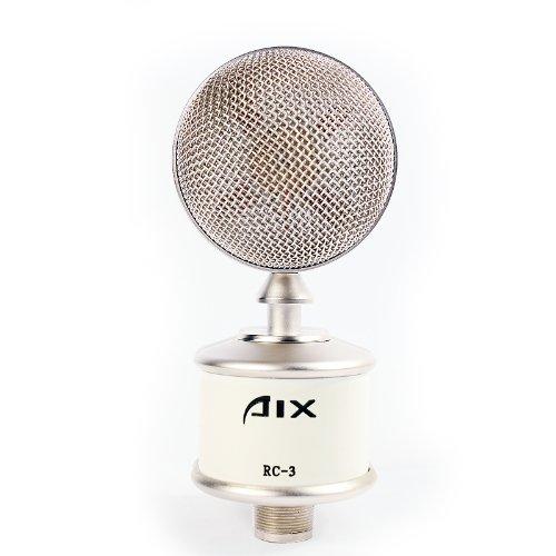 aix爱秀晶体管振膜电容话筒幻彩系列 rc-3(白色)
