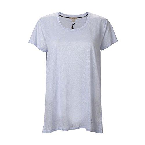 burberry 博柏利 女士圆领纯色t恤l 3973387 淡紫色