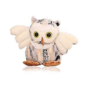 baoli 宝丽 呆萌可爱猫头鹰毛绒玩具公仔 大眼睛猫头鹰 大号玩偶娃娃