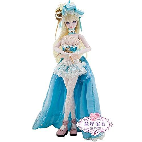 娃娃梦叶罗丽女孩人体爱丽丝娃娃儿童玩具50cm(宝石蓝星)图片动态精灵仙子图片