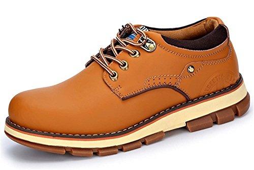 Guciheaven 英伦男士皮鞋 时尚商务休闲皮鞋 户外皮鞋 大头皮鞋 工装鞋 低帮男鞋JRSPZ6801