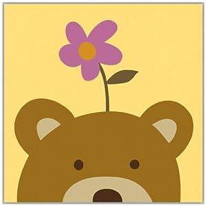 轻艺术 自然萌物 动物的理想 c款 现代简约儿童房可爱清新相框装饰画