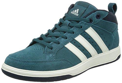 adidas 阿迪达斯 TENNIS CULTURE 男 网球鞋oracle VI STR mid Suede  S41875 VIRIDIAN F15/粉白/深藏青蓝 43 (UK 9)