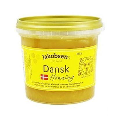 jakobsens雅各布森丹麦特供有机百花蜂蜜450g