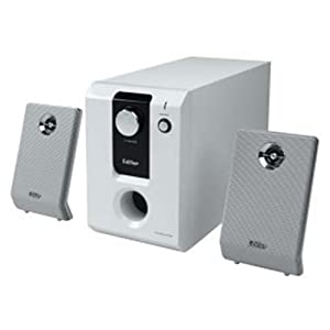 漫步者 2.1音箱 r303t 白色(冷酷时尚 3英寸防磁纸盆低音扬声器)