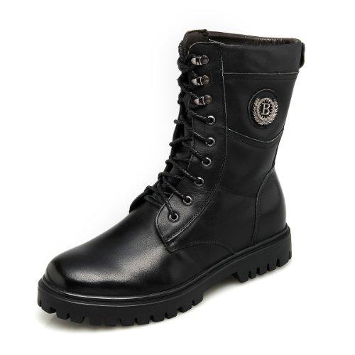 GOG 高哥新款冬季高帮马丁靴军靴增高鞋 增高6.5cm 增高鞋男靴 A93927