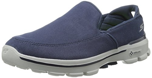 Skechers Performance Men's Go Walk 3 Attain Slip-On Walking Shoe, Navy, 11.5 M US