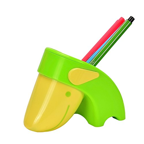 上品汇 创意山羊笔筒 儿童小学生可爱塑料迷你小笔筒