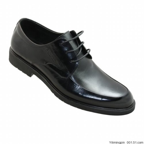 12年新款★金利来皮鞋★专柜正品★系带186695 黑色