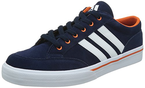 adidas 阿迪达斯 TENNIS CULTURE 男 网球鞋GVP SUEDE  M17975 学院藏青蓝/白/橙黄 43.5 (UK 9-)
