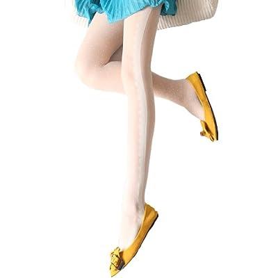 韩国丝袜超薄白色提花水玉点点蕾丝花边春夏连裤袜