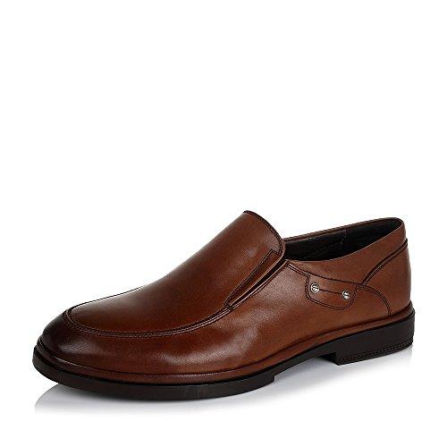 Senda 森达 森达冬季专柜同款打蜡牛皮男皮鞋 FU106DM5