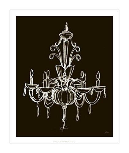 灯泡黑白设计装饰画分享展示