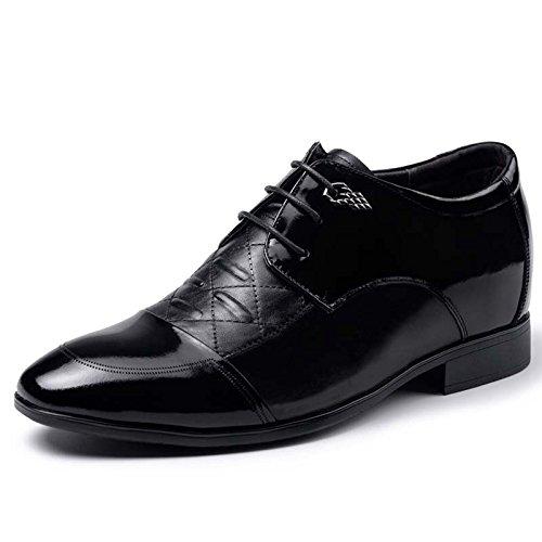 2015秋季新款男士内增高商务皮鞋6.5厘米515836