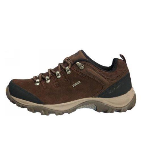 Kolumb 哥仑步 男子户外低帮防滑耐磨徒步鞋 303332 咖啡