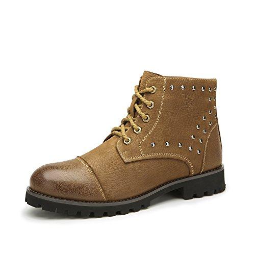 Camel 骆驼男靴 日常休闲保暖马丁靴 2014秋冬新款短筒靴 A442147094