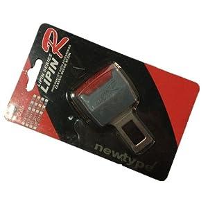 延长插扣 金属安全带插销 插片 解除汽车警报 单只 灰红色在亚马逊的高清图片