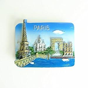 跨国坊法国巴黎埃菲尔铁塔优质树脂冰箱贴